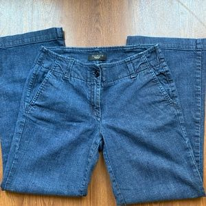 Talbots flared jeans 6P